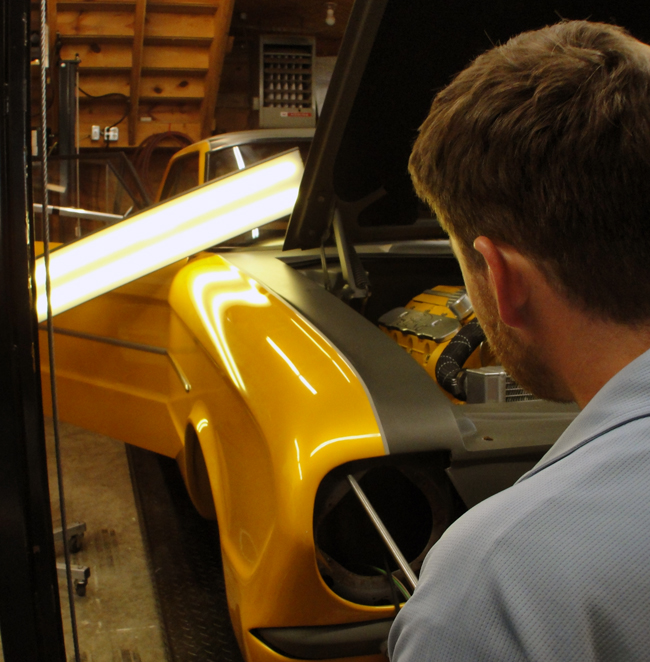 Dent Werks PDR specializes in old and new car dent repairs