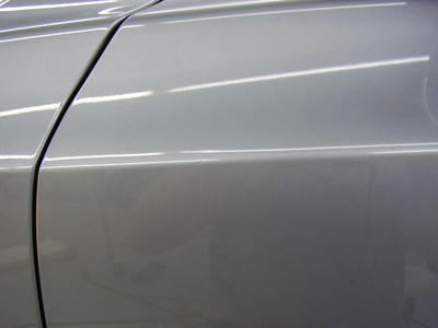 BMW repaired using paintless dent repair in Minneapolis