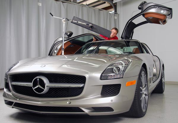 Mercedes Benz PDR repair in Minneapolis, MN and St. Paul